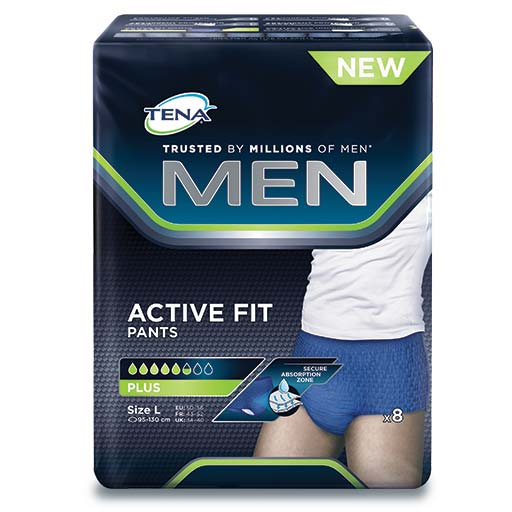 Tena Men Pants Plus Large 8Τεμ