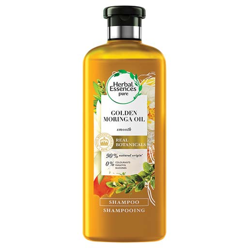Herbal Essences Σαμπουάν Gold Moringa 400Ml 1+1 Δώρο