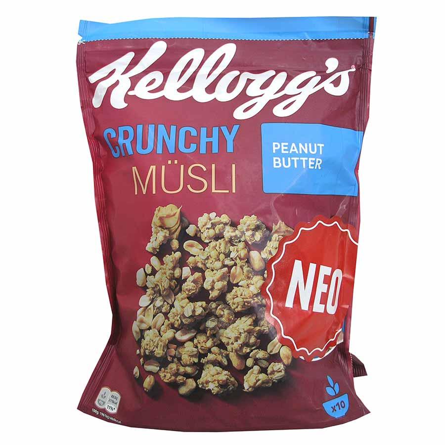 Kellogg's Crunchy Muesli Peanut Butter 450γρ.