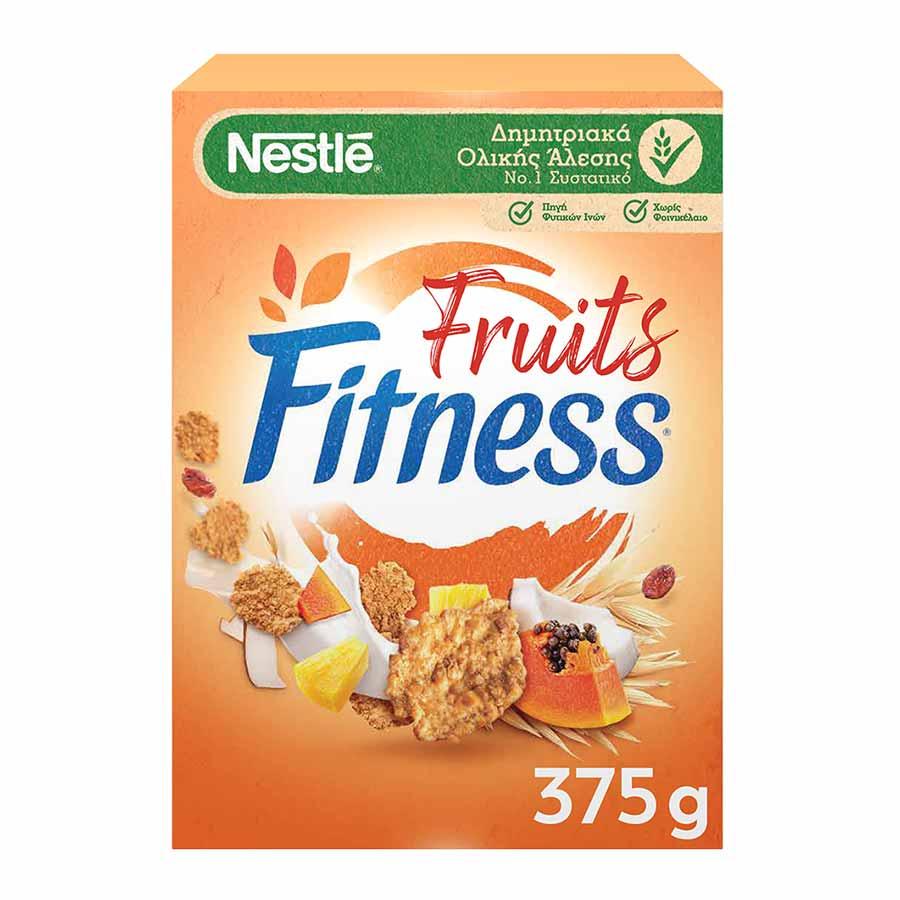 Nestle Fitness Δημητριακά Με Φρούτα 375γρ.