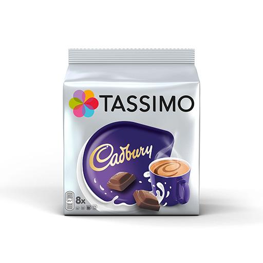 Tassimo Jacobs Cadbury Ρόφημα Σοκολάτας Κάψουλες 8τεμ.