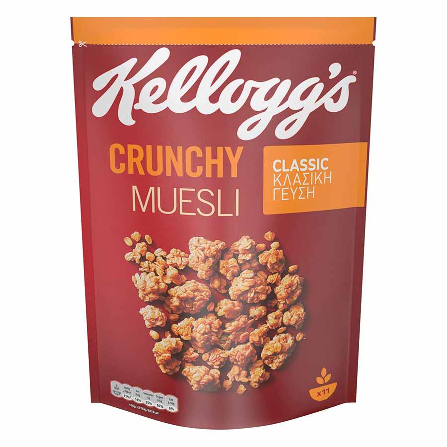 Kellogg's Crunchy Muesli Classic 500γρ.