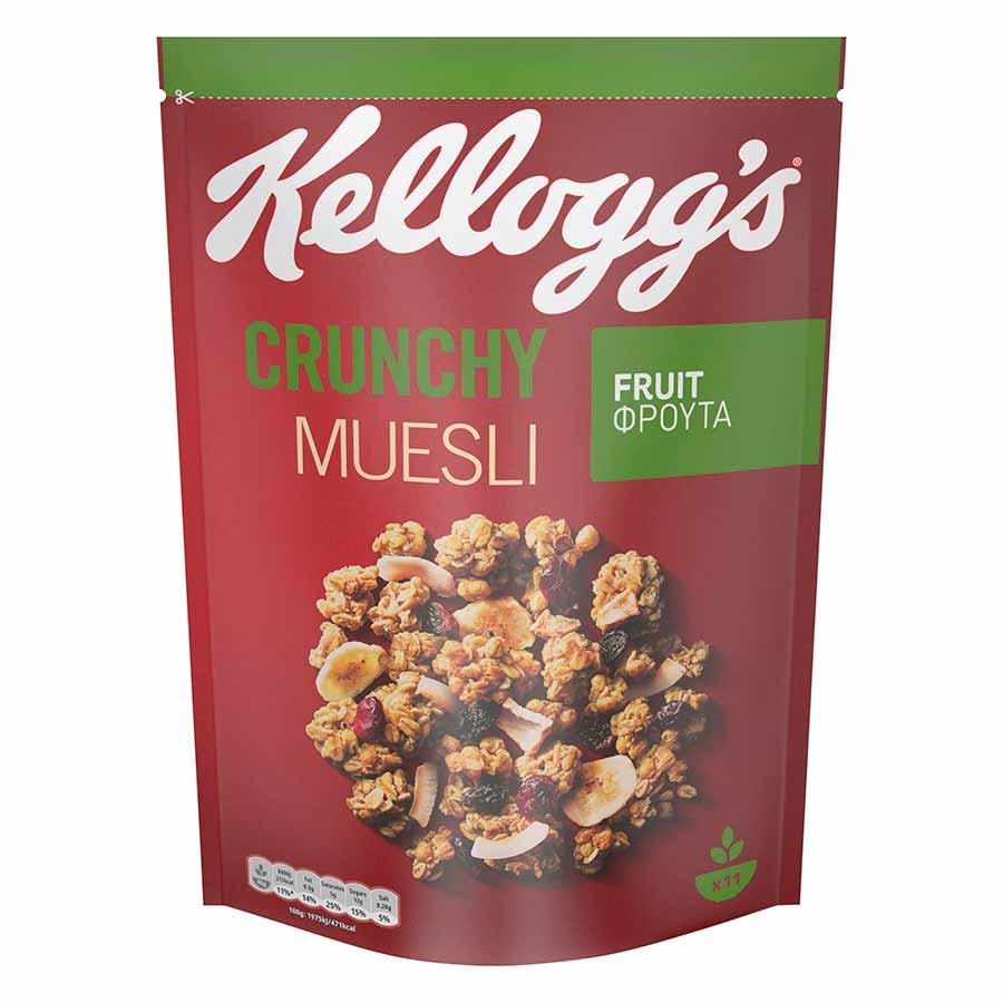 Kellogg's Crunchy Muesli Fruit 500γρ.