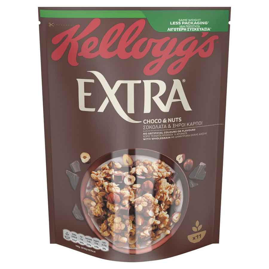 Kellogg's Crunchy Muesli Choco & Nuts 500γρ.