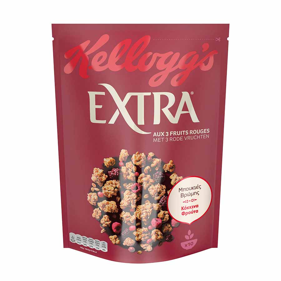 Kellogg's Extra Red Fruit 450γρ.
