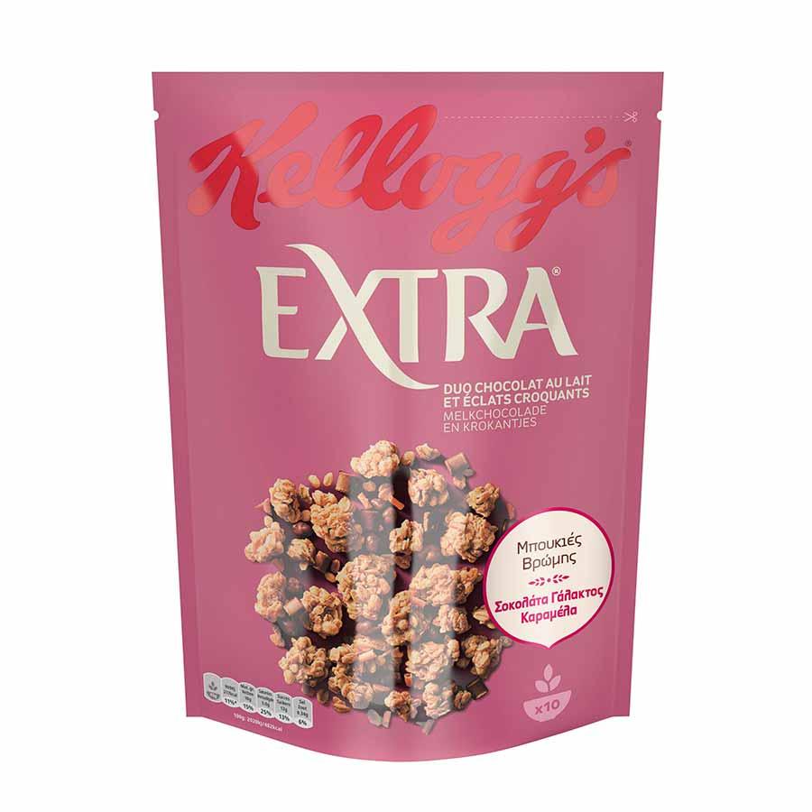 Kellogg's Extra Choco Caramel 450γρ.