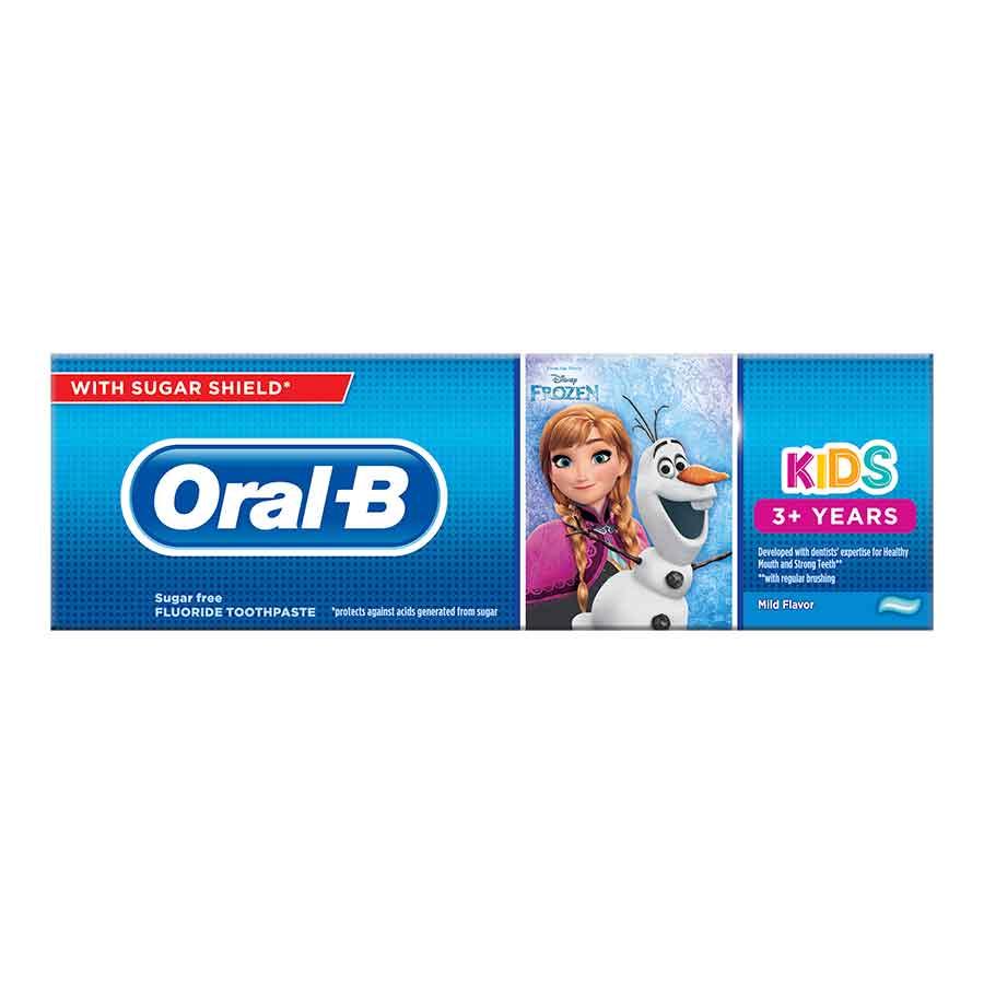 Oral-B Οδοντόκρεμα Παιδική 3+ Frozen & Cars 75ml.