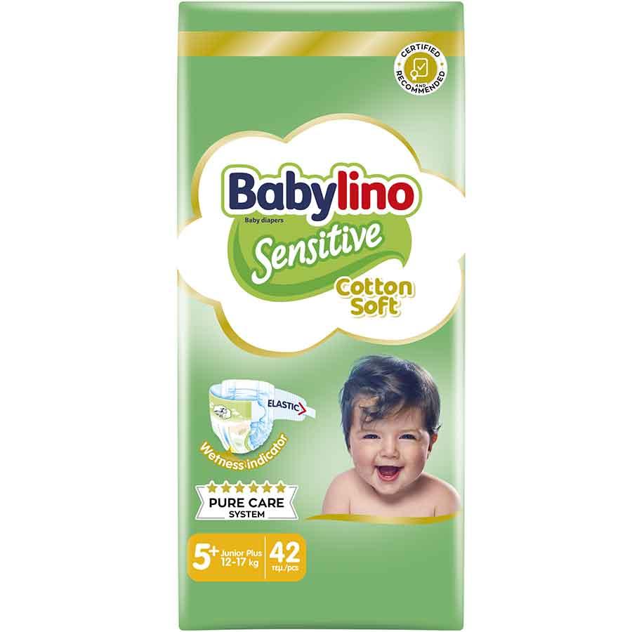 Babylino Sensitive Πάνες Νo5+ Value Pack 13-27kg. 42τεμ.