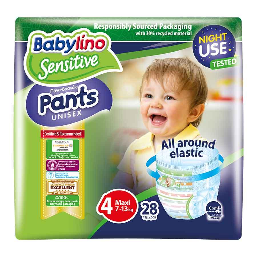 Babylino Πάνες-Pants Unisex No4 7-13kg. 28τεμ.