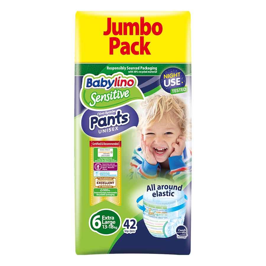 Babylino Πάνες-Pants Jumbo Pack Unisex No6 15+ Κg 42τεμ.