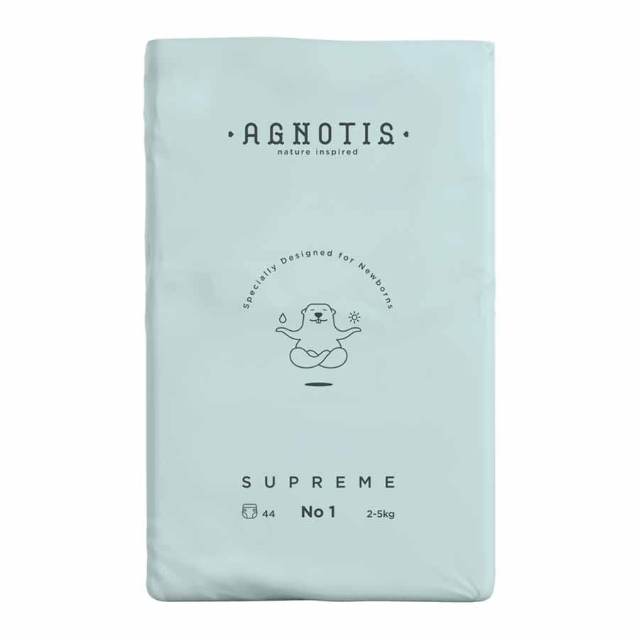 Agnotis Supreme Βρεφικές Πάνες Νο1 44τεμ.