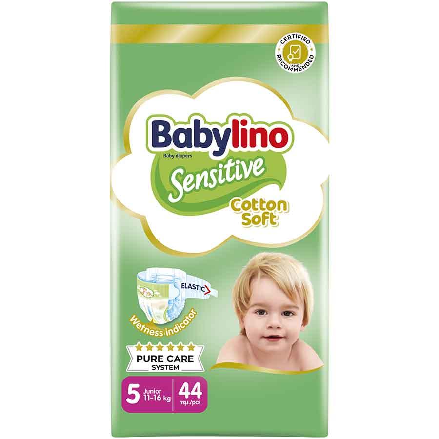Babylino Sensitive Πάνες No5 Value Pack 11-25kg. 44τεμ.