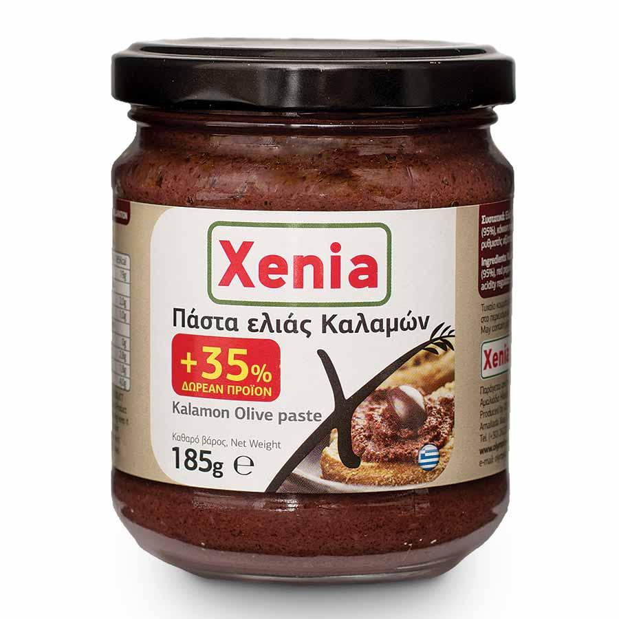 Xenia Πάστα Ελιάς Καλαμών 135γρ+35% Δώρο