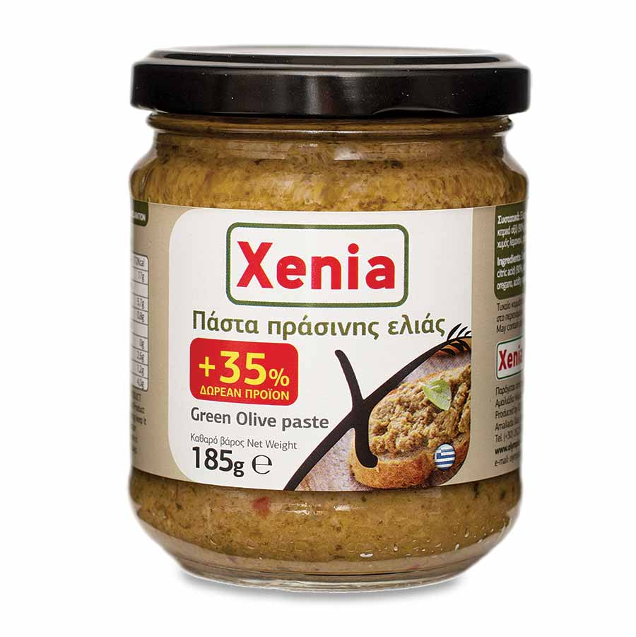 Xenia Πάστα Πράσινης Ελιάς 135γρ+35% Δώρο