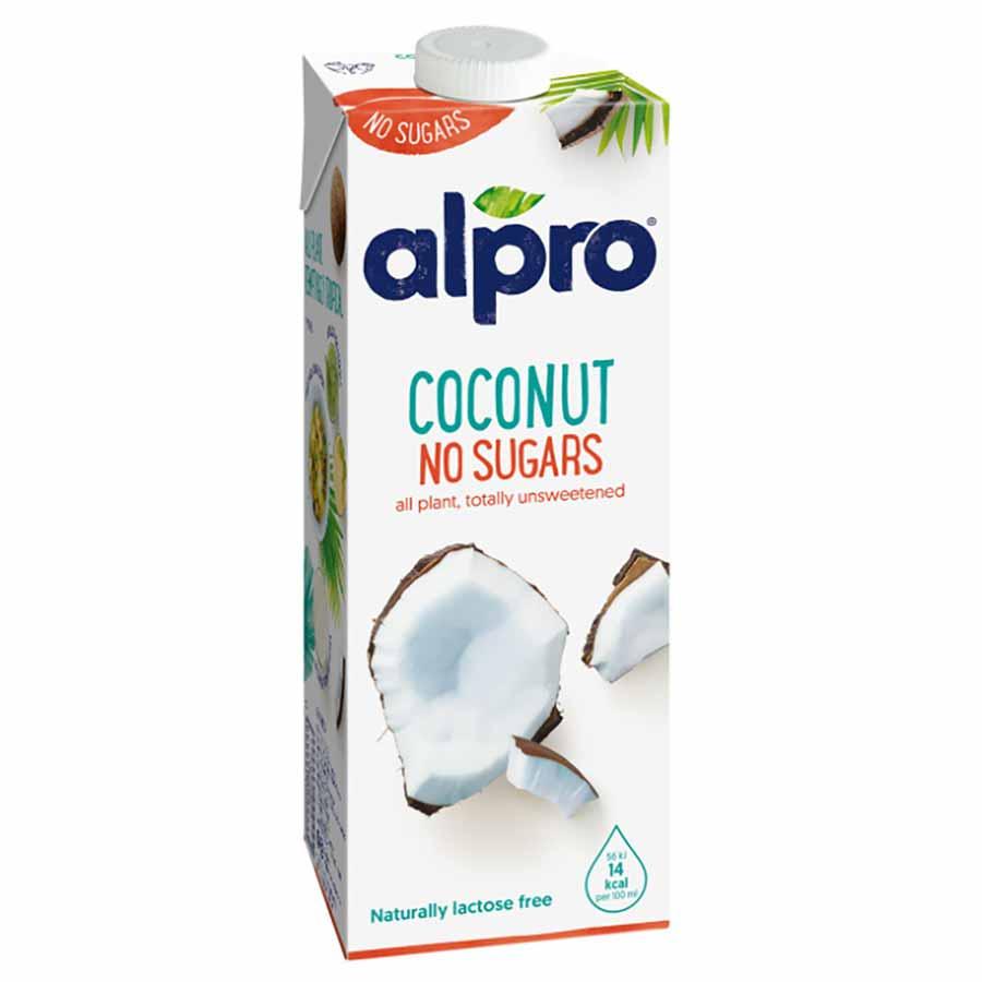 Alpro Ρόφημα Καρύδας Natural Χωρίς Ζάχαρη 1lt.
