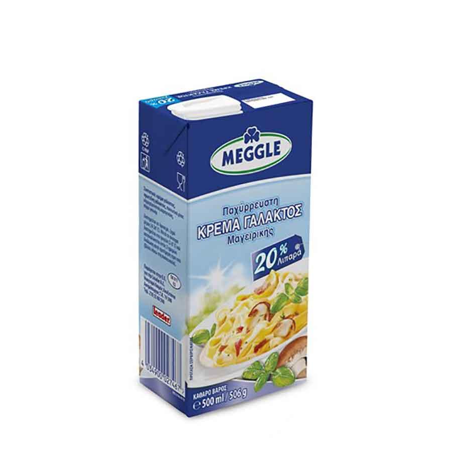 Meggle Κρέμα Γάλακτος 20% 500ml.