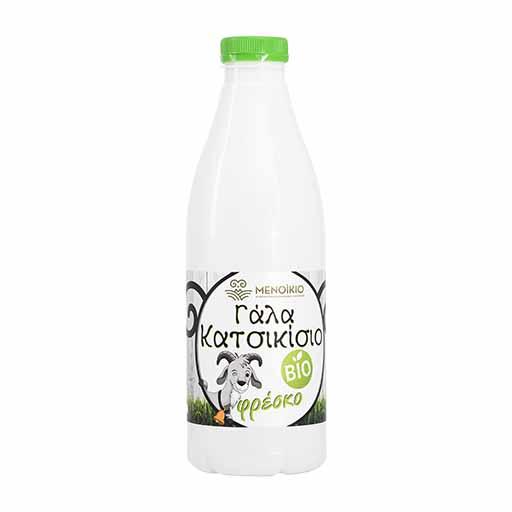 Μενοίκιο Γάλα Φρέσκο Κατσικίσιο Βιολογικό 1lt.