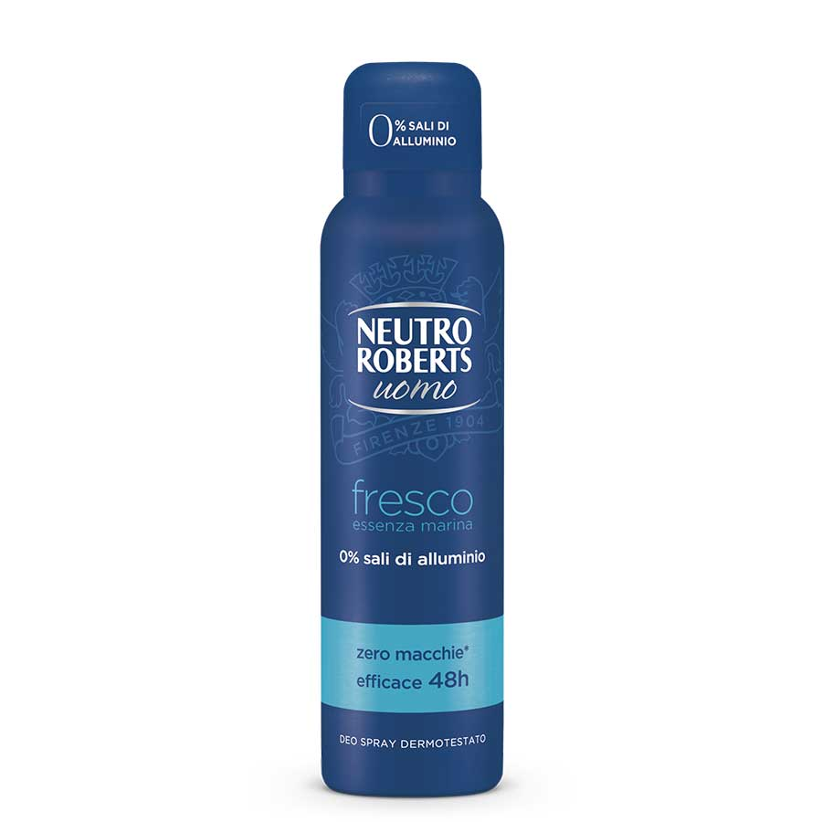 Neutro Roberts Men Αποσμητικό Σπρέυ Fresh Marine Blue 150ml.