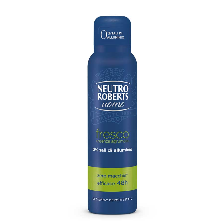Neutro Roberts Men Αποσμητικό Σπρέυ Citrus Green 150ml.