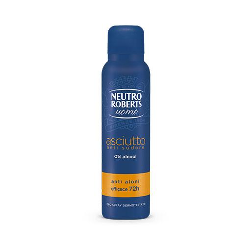 Neutro Roberts Men Αποσμητικό Σπρέυ Dry 150ml.