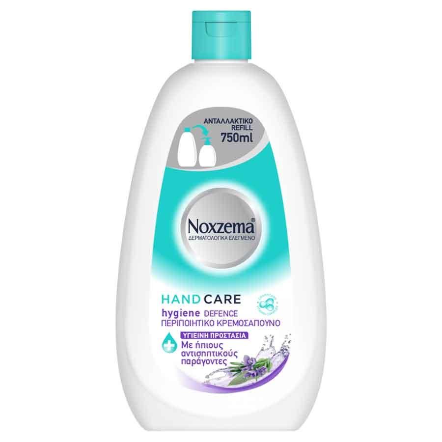 Noxzema Κρεμοσάπουνο Ανταλλακτικό Hygiene 750ml.