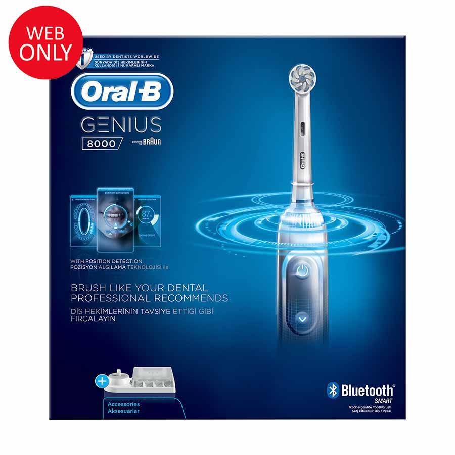Oral-B Genius 8000 Ηλεκτρική Οδοντόβουρτσα (Παράδοση 4-7 ημέρες)
