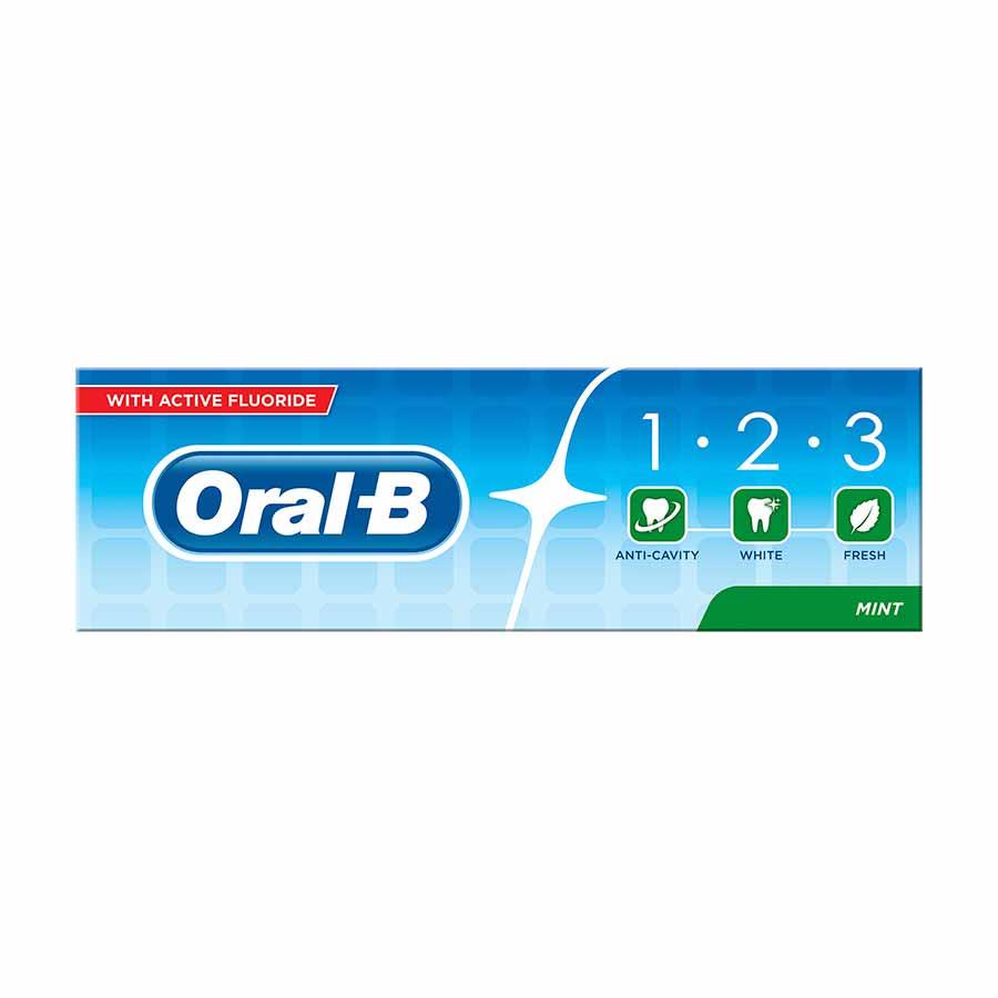 Oral-B 123 Οδοντόκρεμα 75ml
