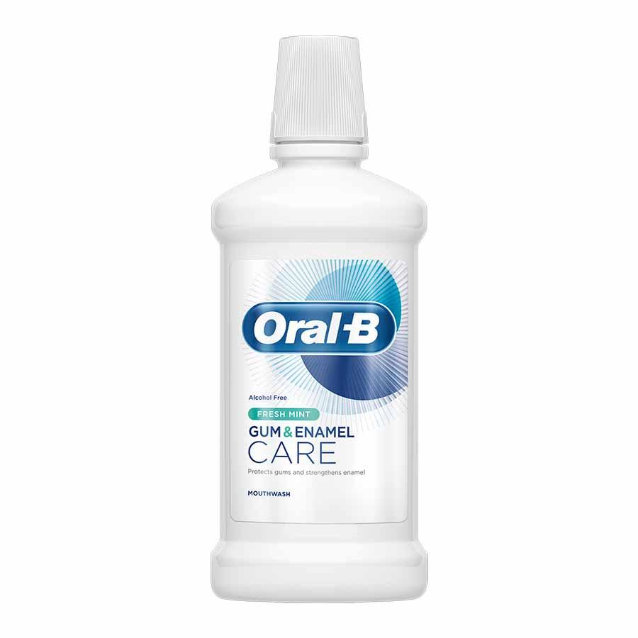 Oral-B Gum & Enamel Care Στοματικό Διάλυμα 500ml.
