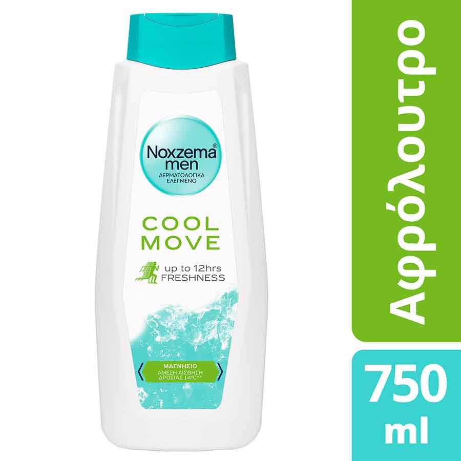 Noxzema Αφρόλουτρο Men Cool Move 750ml.