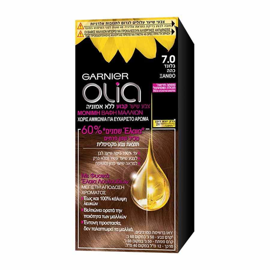 Olia Βαφή Μαλλιών No7.0 Ξανθό