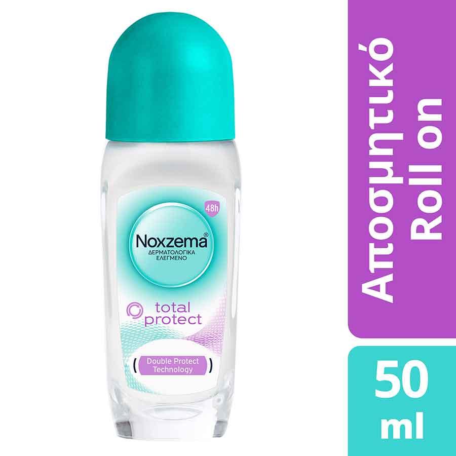 Noxzema Total Protect + Fresh Touch Rollon Αποσμητικό 50ml.