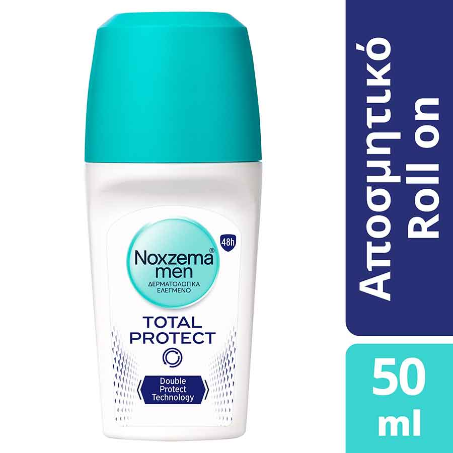 Noxzema Total Protect + Fresh Power Rollon Αποσμητικό 50ml.