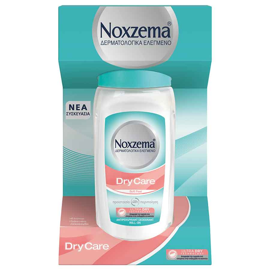 Noxzema Dry Care Soft Feel Rollon Αποσμητικό 50ml.