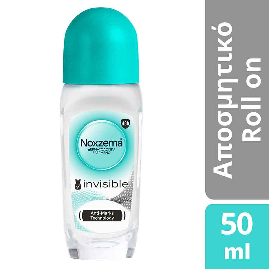 Noxzema Invisible For Her Rollon Aποσμητικό 50ml.