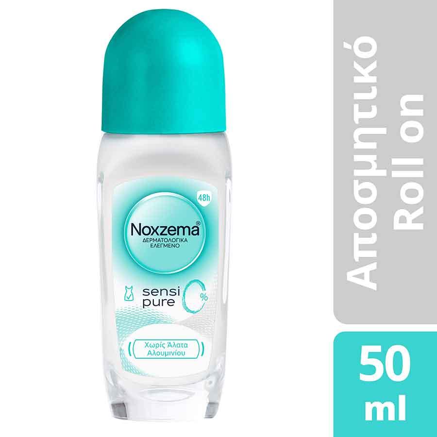 Noxzema Sensipure 0% Rollon Aποσμητικό 50ml.