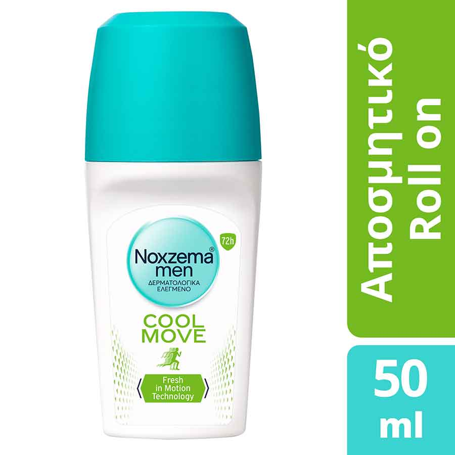 Noxzema Cool Move Men Rollon Aποσμητικό 50ml.