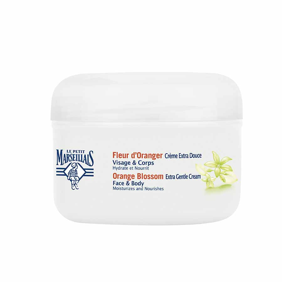 Le Petit Marseillais Face & Body Cream Orange Blossom 200ml.