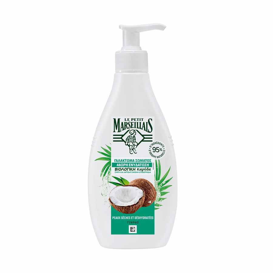 Le Petit Marseillais Body Lotion Bio Coconut 250ml.