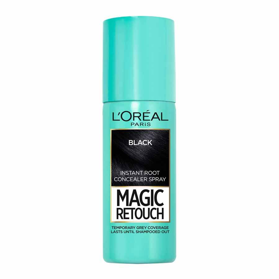L'oreal Magic Retouch Βαφή Μαλλιών No1 Μαύρο