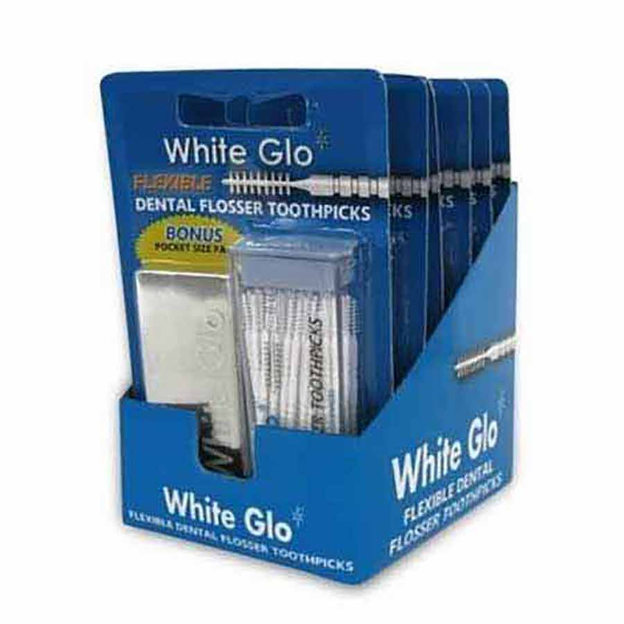 White Glo Μεσοδόντια Βουρτσάκια 50τεμ.