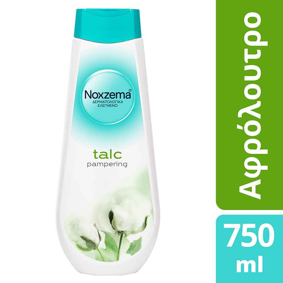Noxzema Αφρόλουτρο Talc Pampering 750ml.