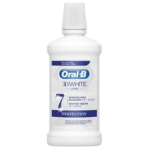 Oral-B 3D White Luxe Στοματικό Διάλυμα 500ml.