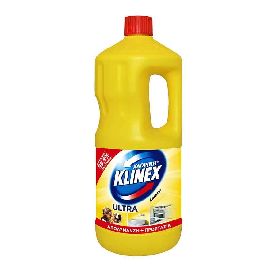 Klinex Χλωρίνη Ultra Lemon 2lt.