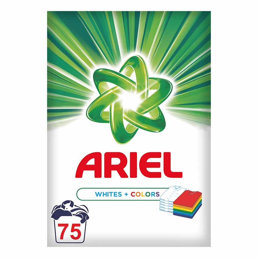 Ariel Λευκά & Χρωματιστά 75mez. 4.875kg.