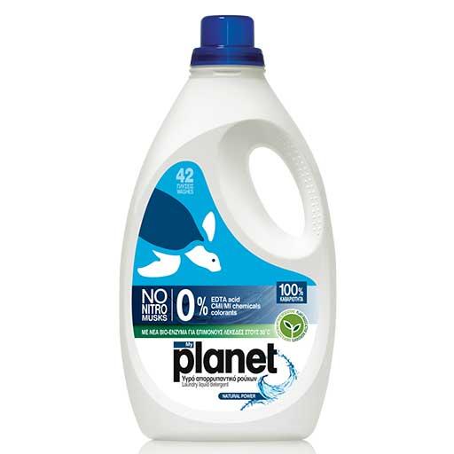 Planet Υγρό Πλυντηρίου 42mez. 2,1lt.