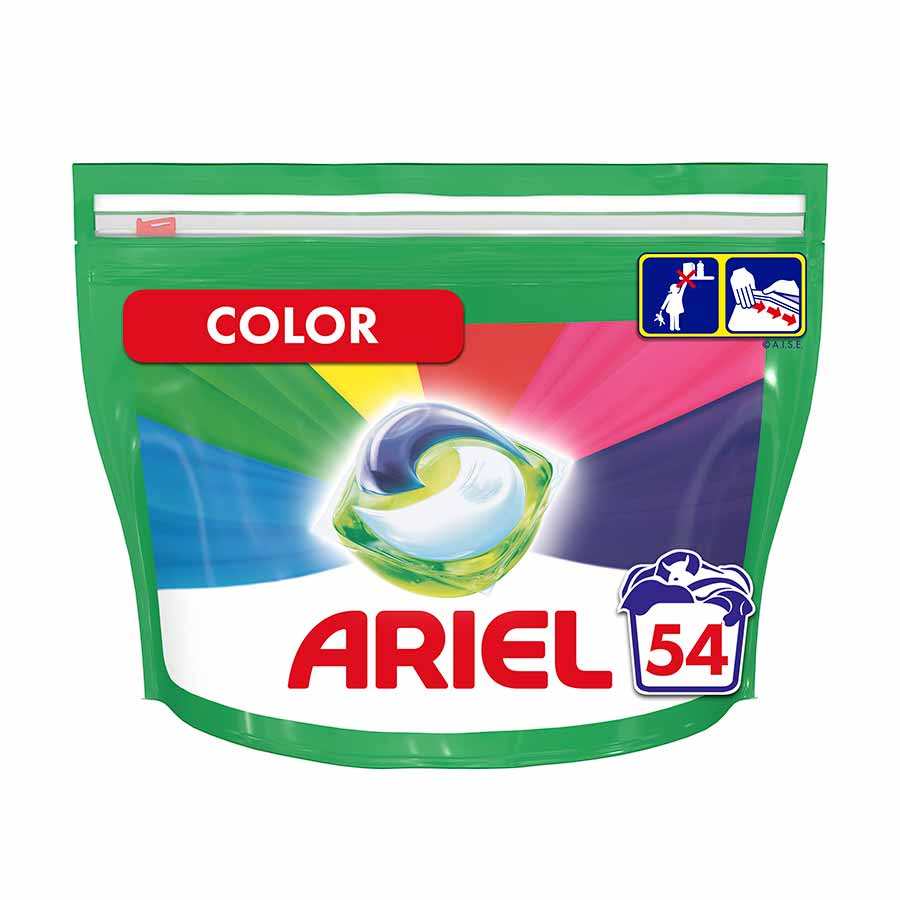 Ariel Pods All In 1 Color 54τεμ. 1,419γρ.